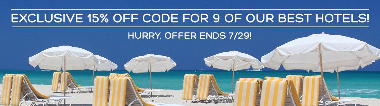 Hotels.com | 15% off Coupon