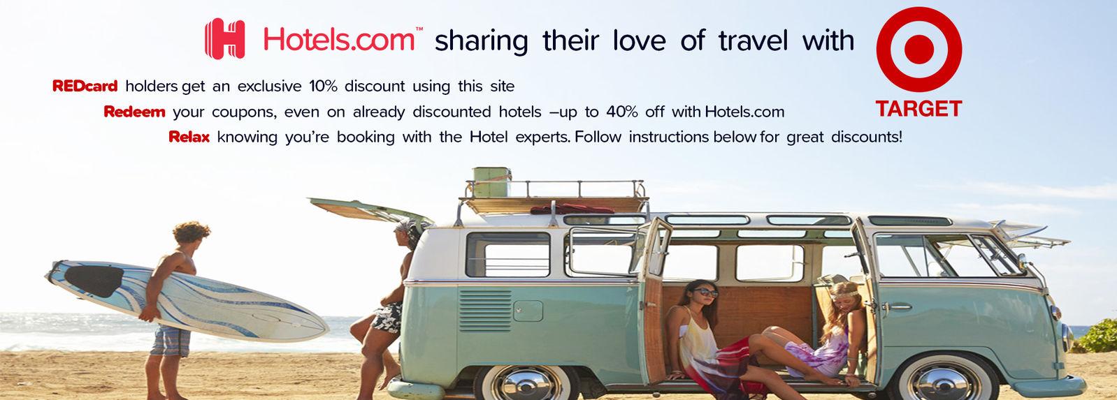 Hotels.com | Target