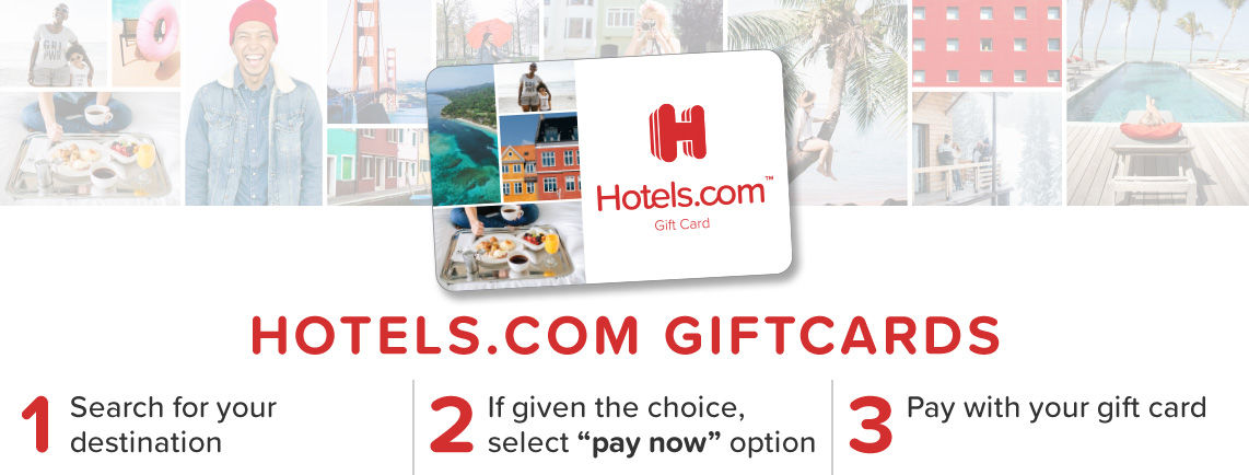 Hotels Com Redeem Your Gift Card