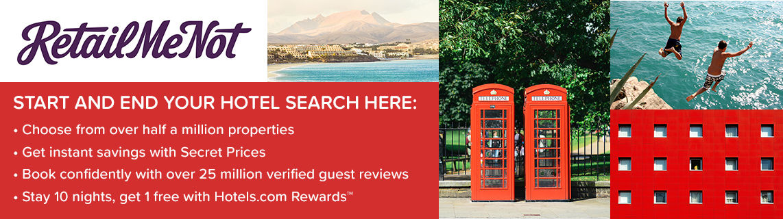 Hotels.com | RetailMeNot