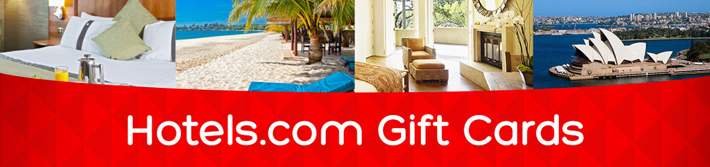 Hotels.com - Buy Hotel Gift Cards Online!
