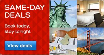 Same-Day Hotel Deals