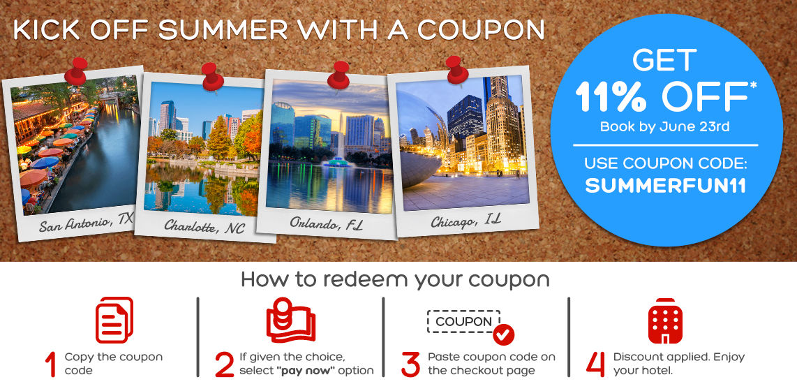 coupon books for hotels when traveling
