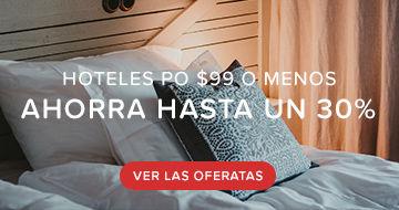Hoteles por $99 y menos
