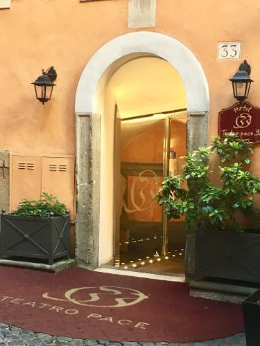 Hotel Teatro Pace Rome