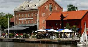 Hafen von Nyköping