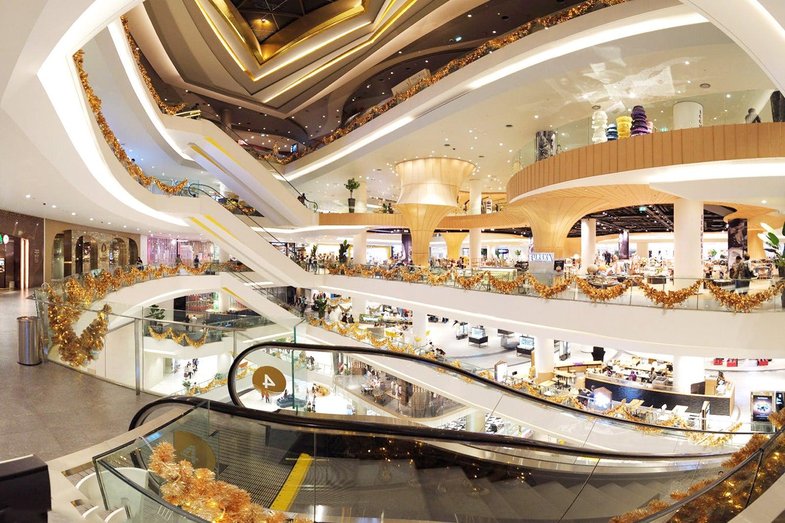 Icon Siam Mall In Bangkok Shopping Mall In Bangkok Riverside Go Guides