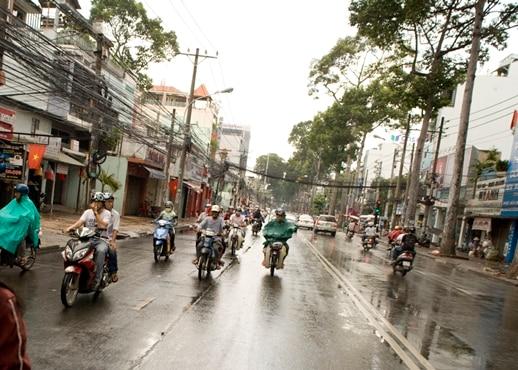 Rua de Pham Ngu Lao, Vietnã