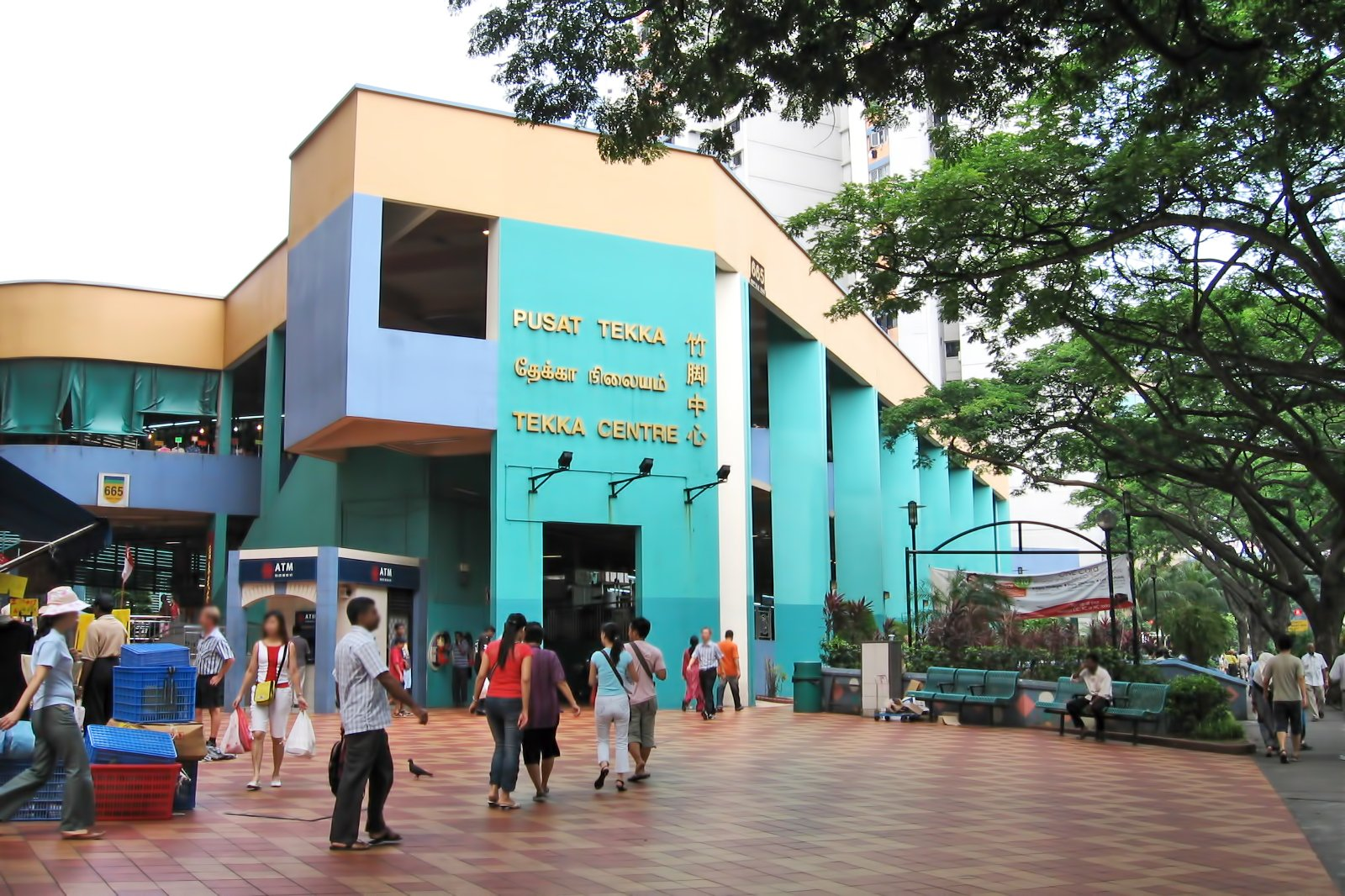 Tekka Center in Singapore - Little India's Colorful Hawker