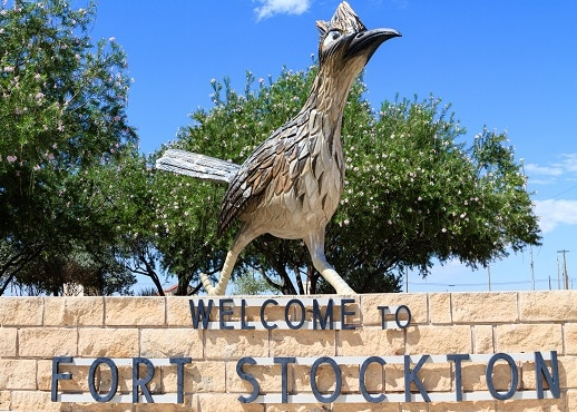 Fort Stockton (ja lähialueet), Texas, Yhdysvallat