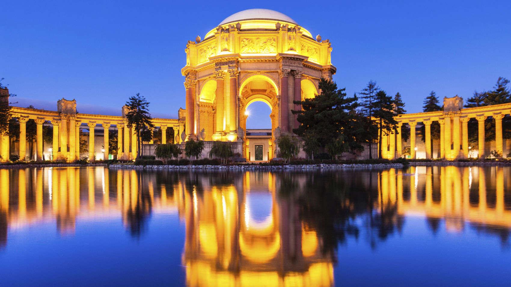 Top 10 San Francisco Hotels Near Palace Of Fine Arts California