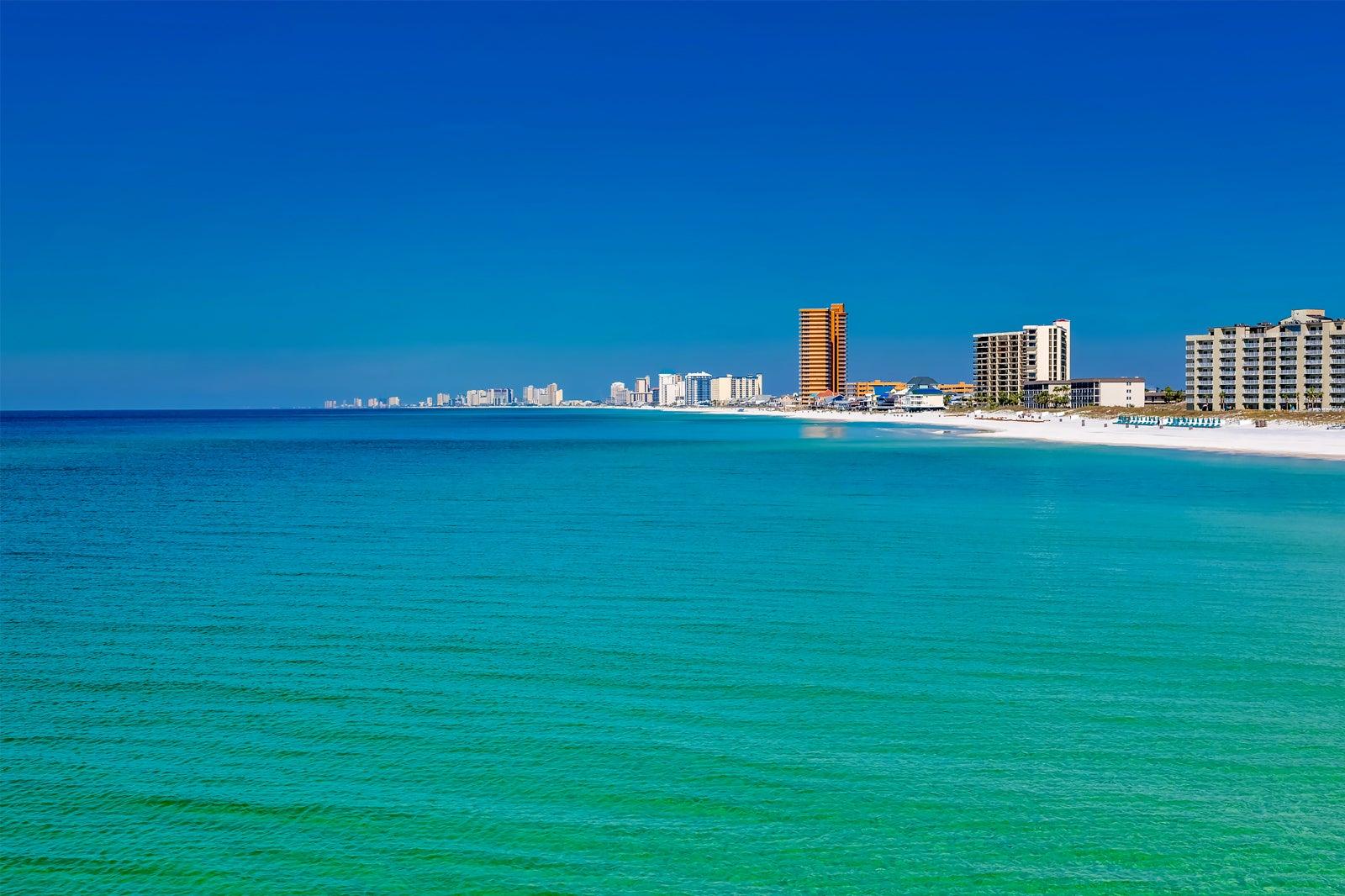 In Panama City Beach Florida