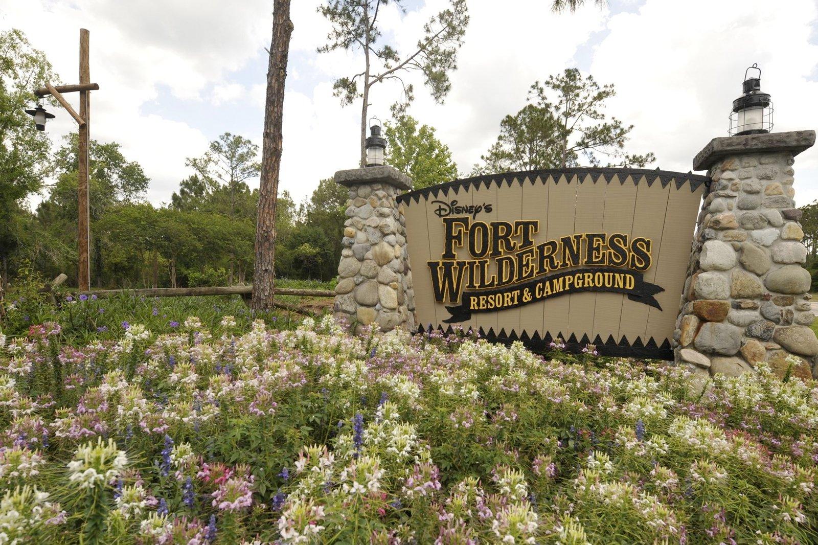 0322 Disney Walt Disney World Fort Wilderness Campground Hotel Resort