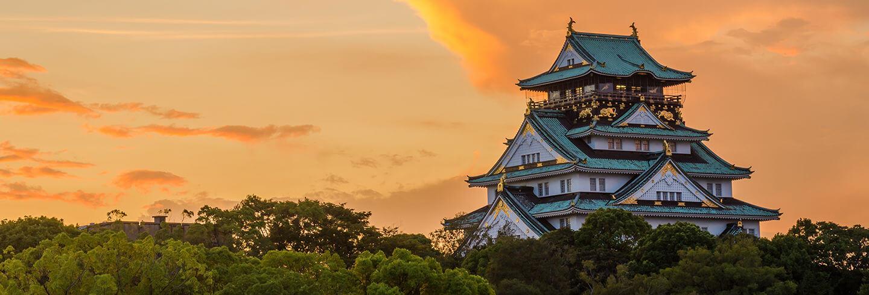 오사카, 일본