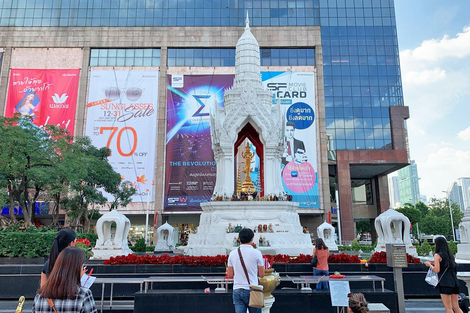 Trimurti Shrine in Bangkok - A Landmark and Shrine of Love in Bangkok – Go Guides