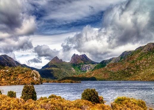 Vnitrozemí, Tasmánie, Austrálie