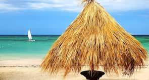 Strand van Cayo Levantado