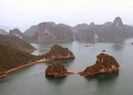 Zaljev Halong, Vijetnam