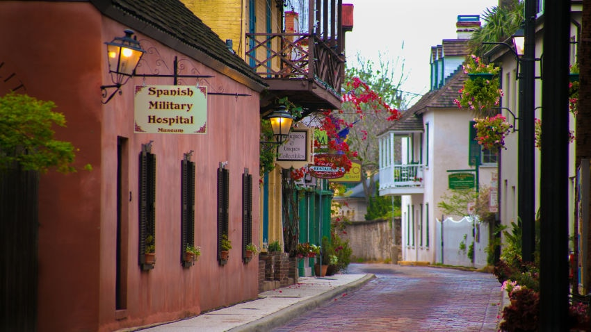 Old City House Inn And Restaurant St Augustine United States Of