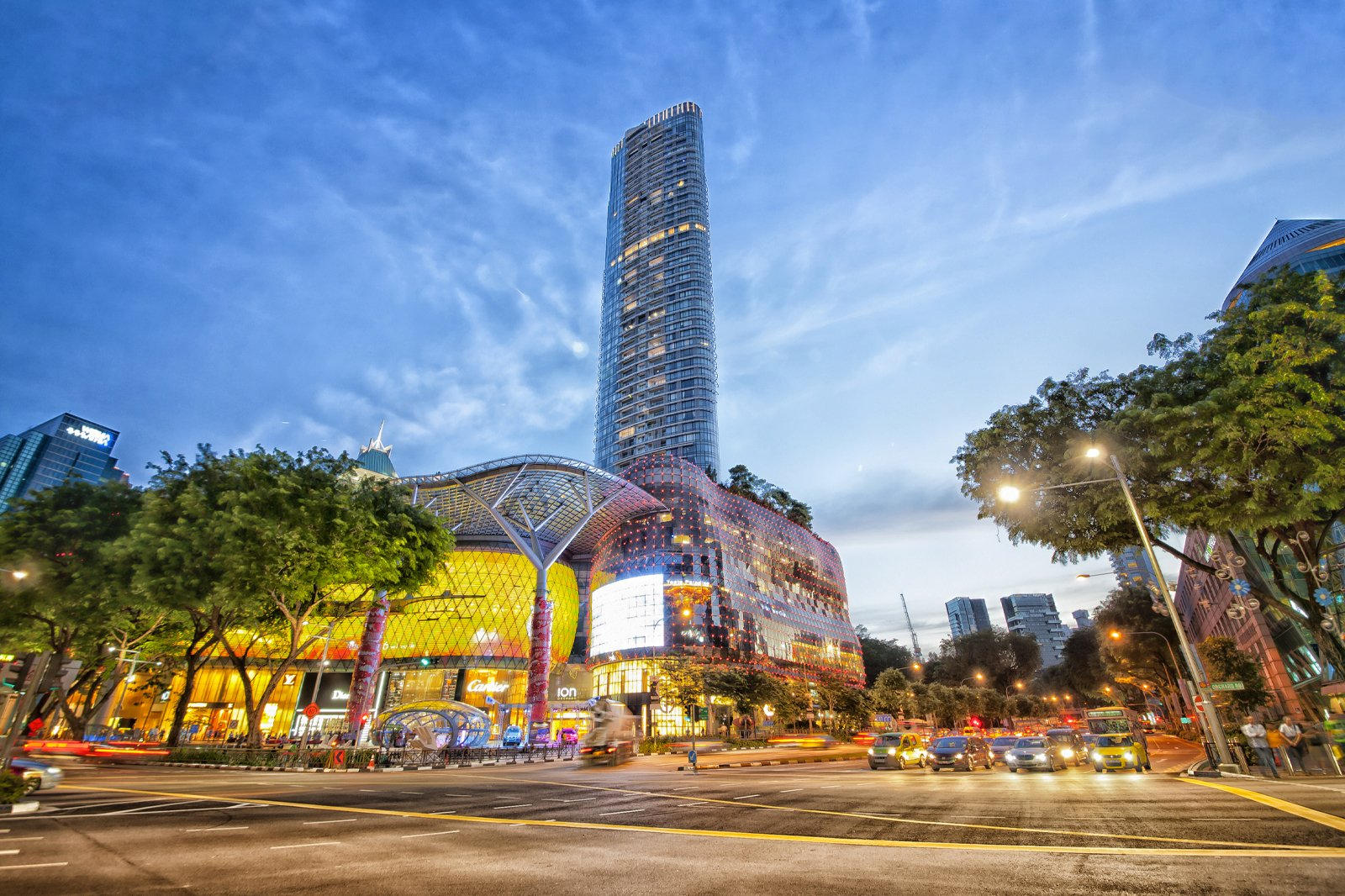 ION Orchard - Singapore Shopping Complex