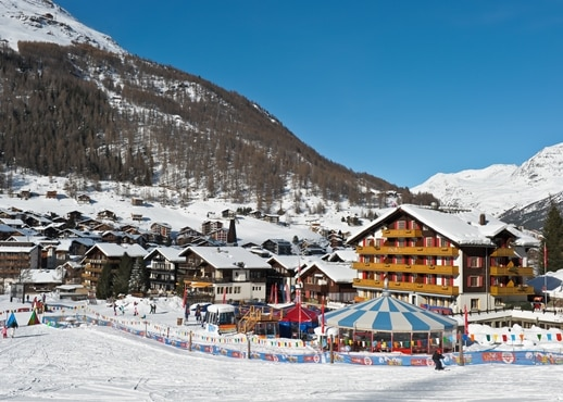 Saas-Fee, Svájc