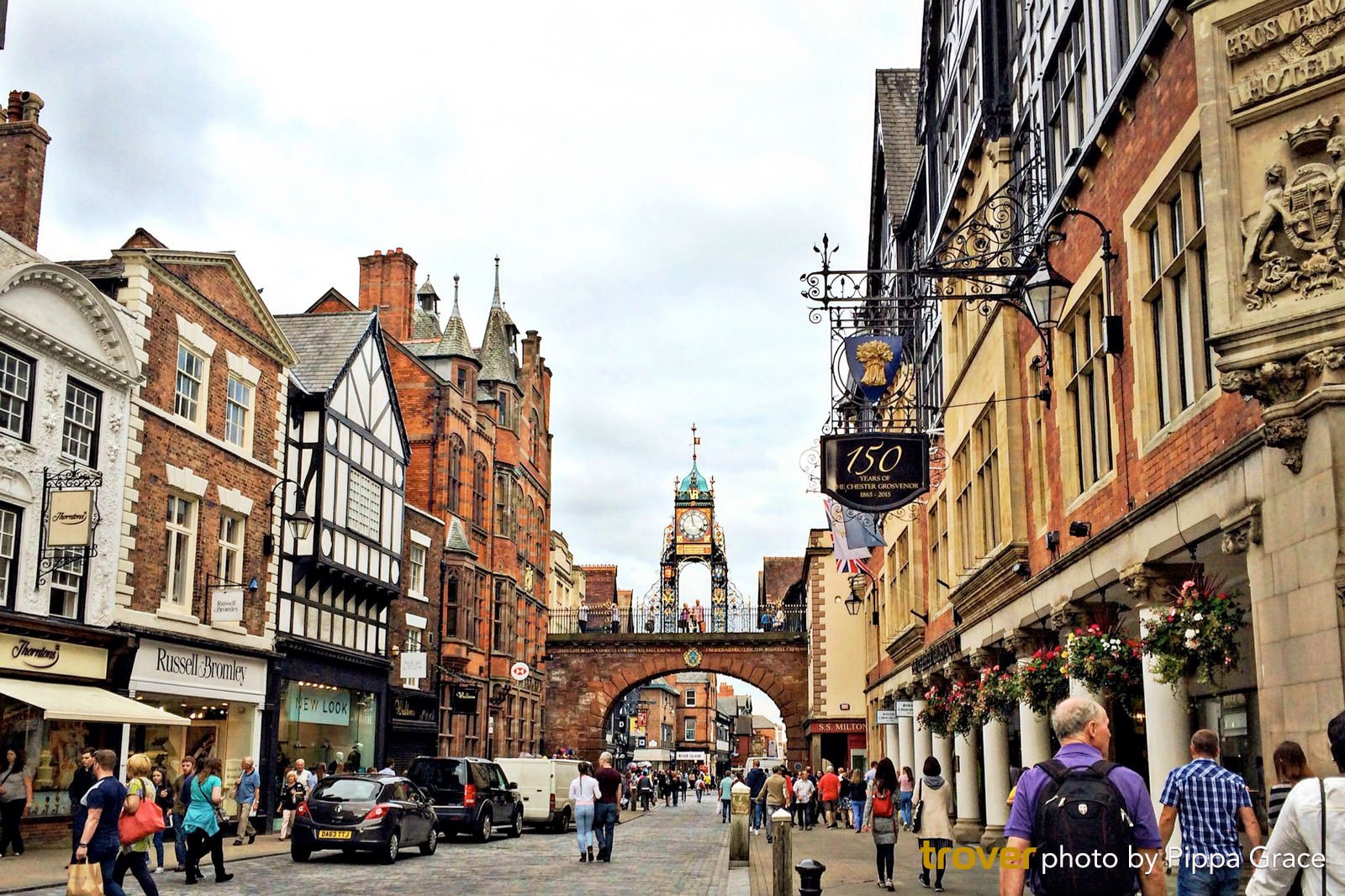 Shopping and Sightseeing in Cheshire