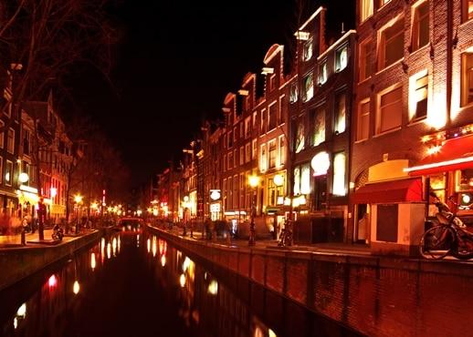 Quartier rouge, Pays-Bas