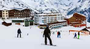 Hochsölden skiområde