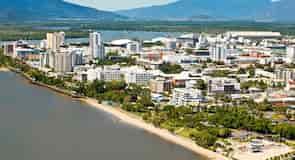 Esplanáda v Cairns