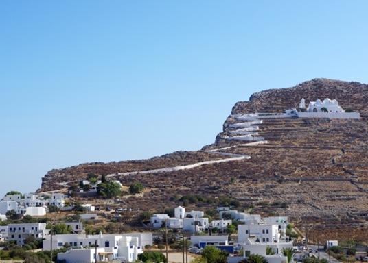 Vila de Folegandros, Grécia