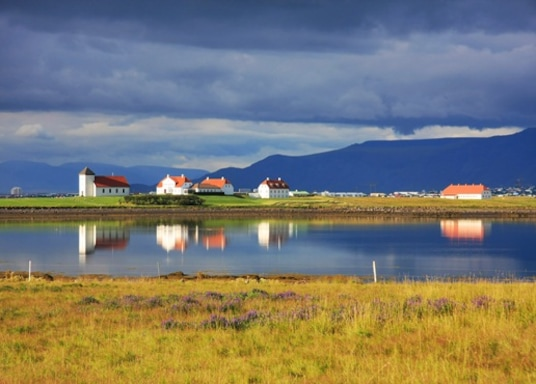 Флатейри, Исландия