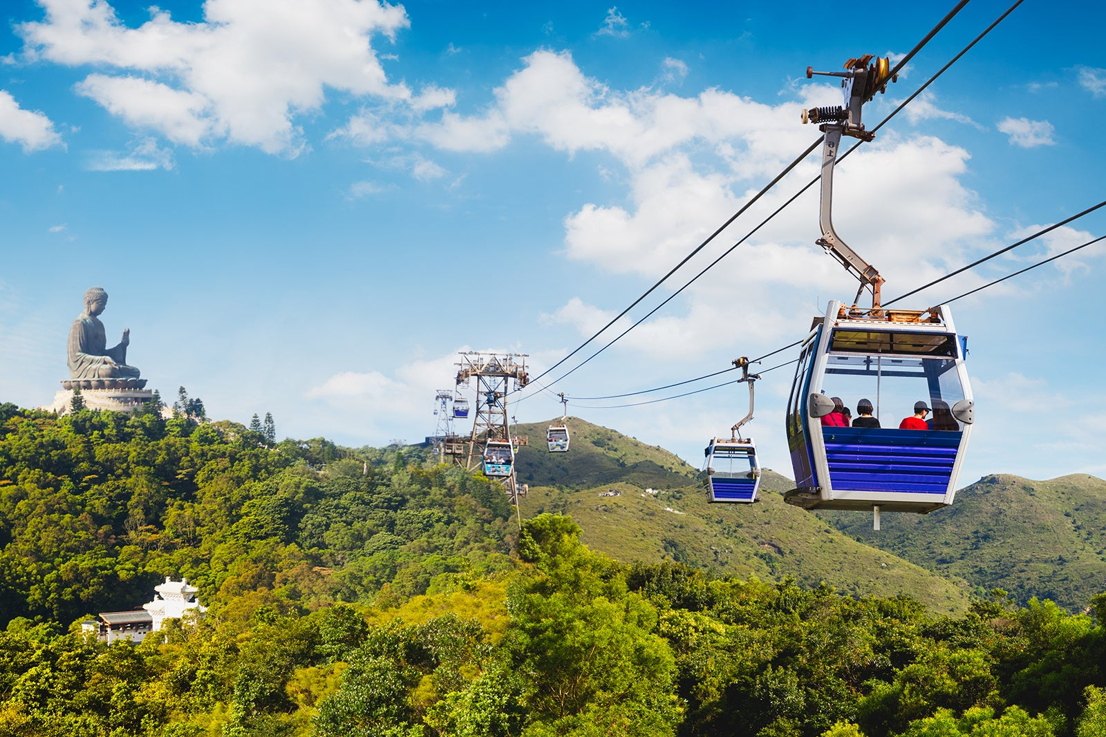 Ngong Ping 360 Hong Kong - Cable Car on Lantau Island