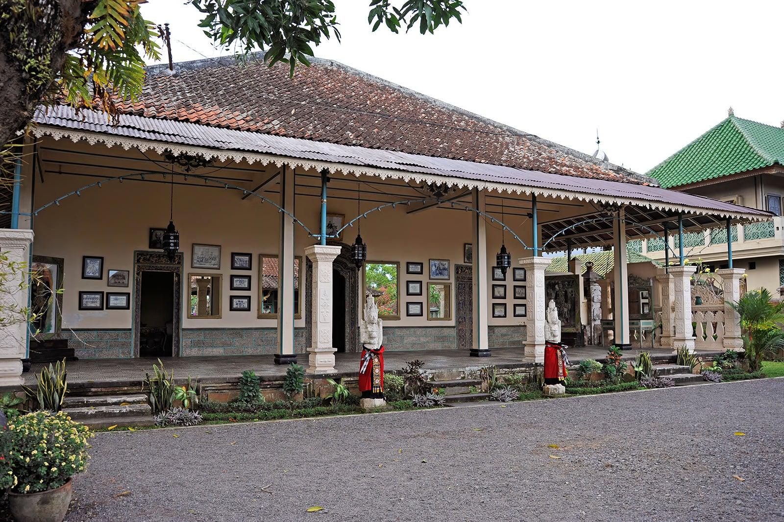 Puri Agung Karangasem Royal Palace - Royal Palace in East Bali