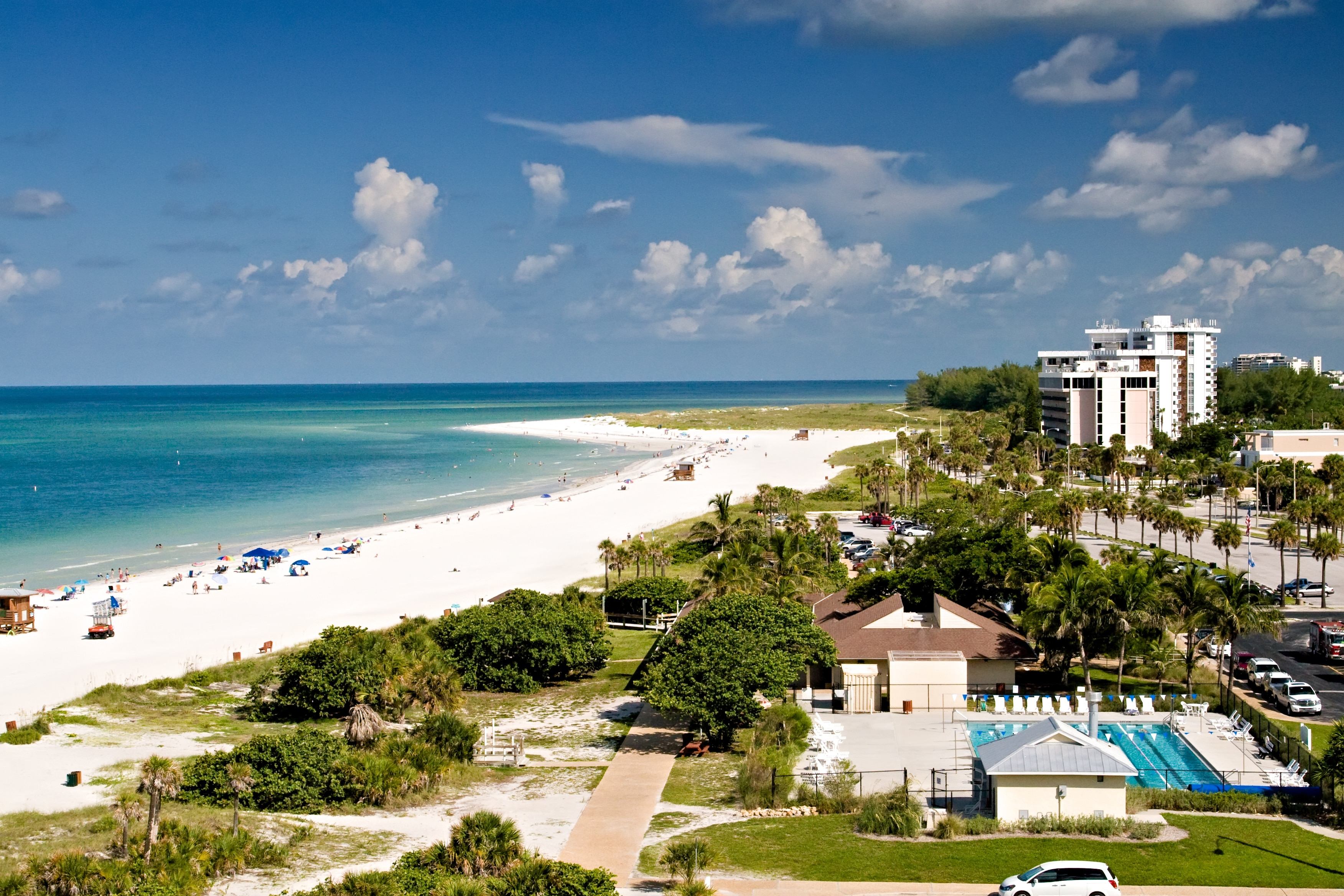 Top 10 Siesta Key Hotels Near Public Beach Florida