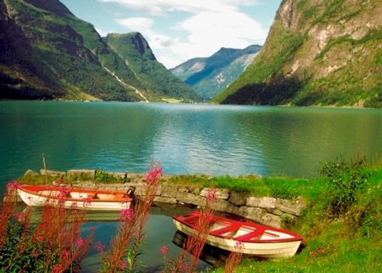 中蓋於爾達, 挪威