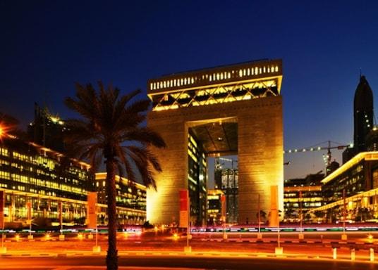 Район Торгового центру, Об'єднані Арабські Емірати