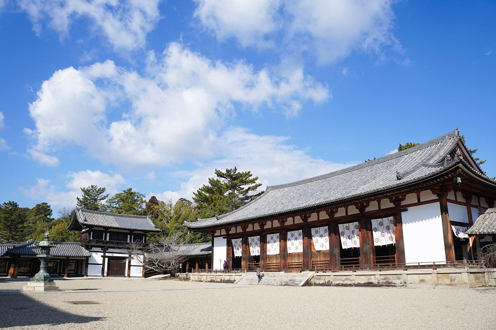 Horyuji Temple Ikaruga Dera Temple Unesco World Heritage Site Near Nara