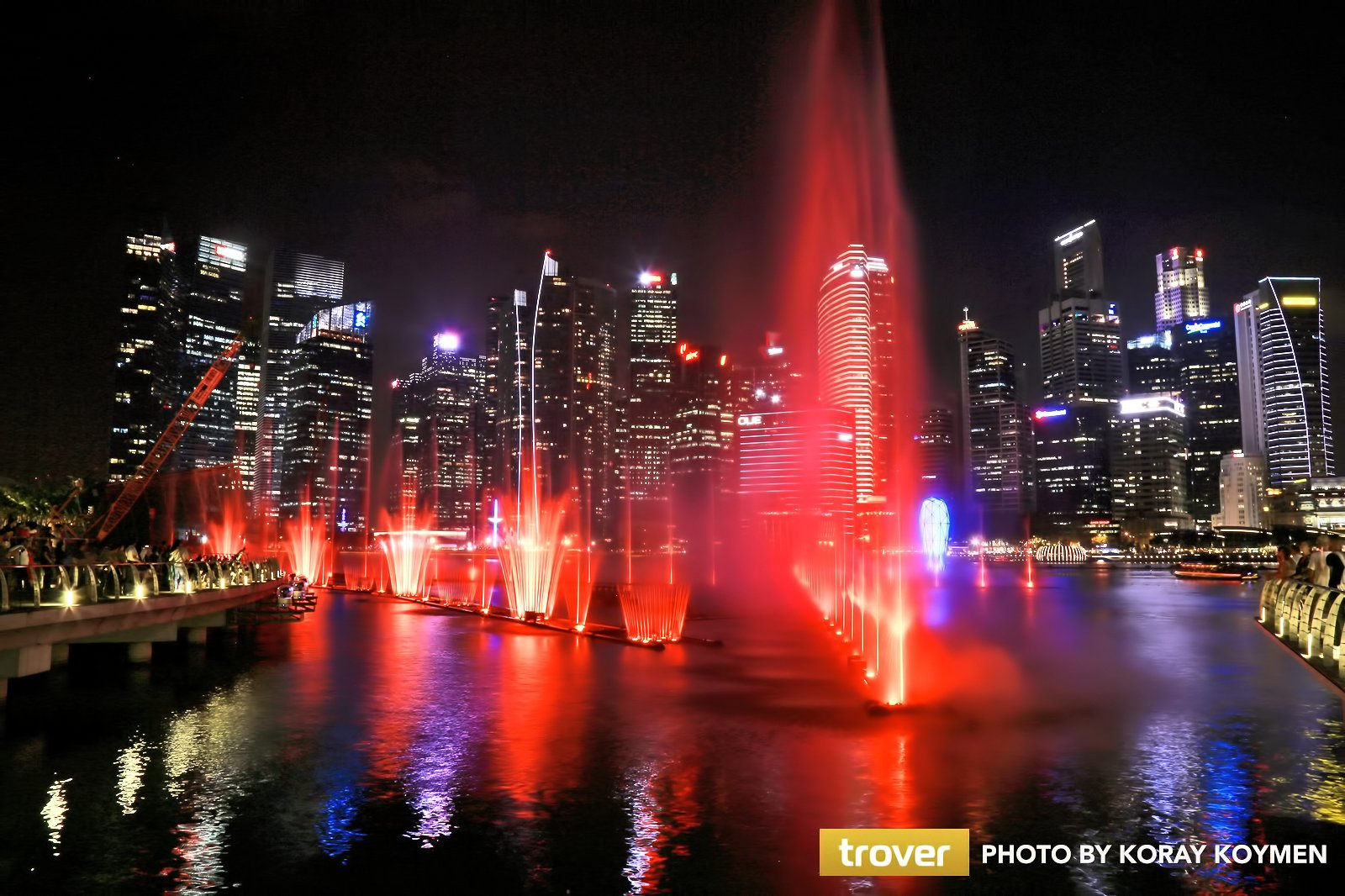 3 Great Light Shows in Singapore - Evening Sound and Light Shows