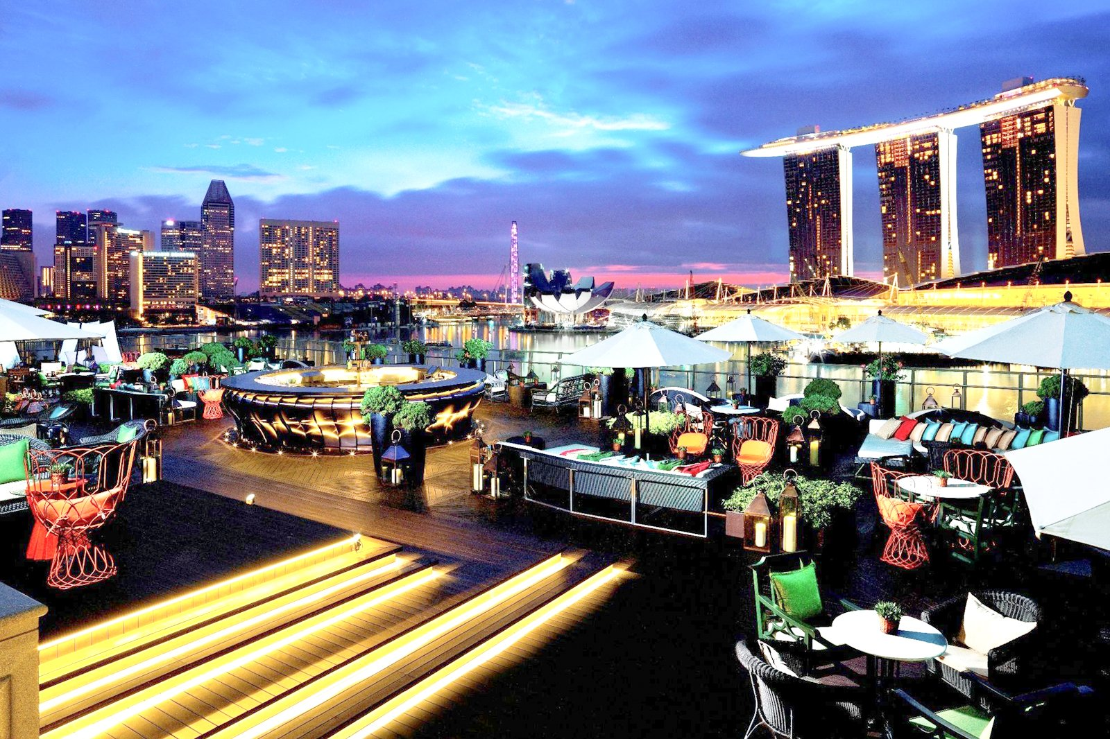 7 Best Rooftop Bars in Singapore - Singapore Best Nightlife