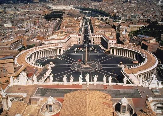 Město Vatikán, Itálie