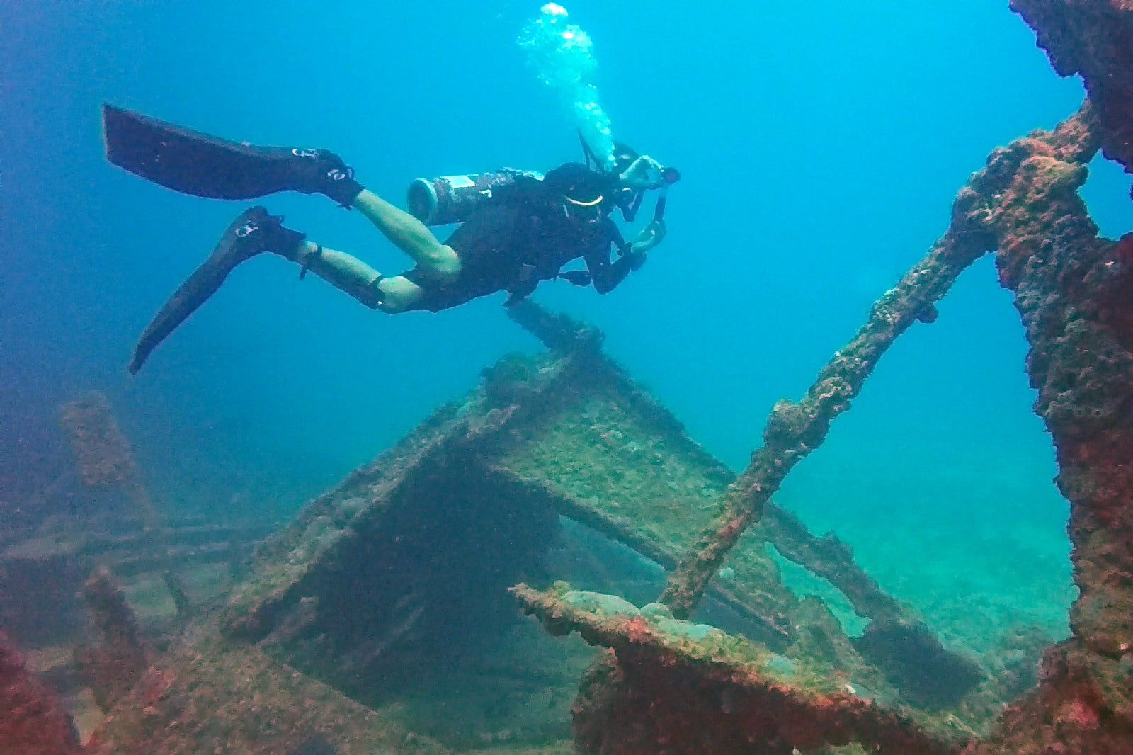 The Shipwrecks Of Coron Bay Snorkeling And Diving Site In
