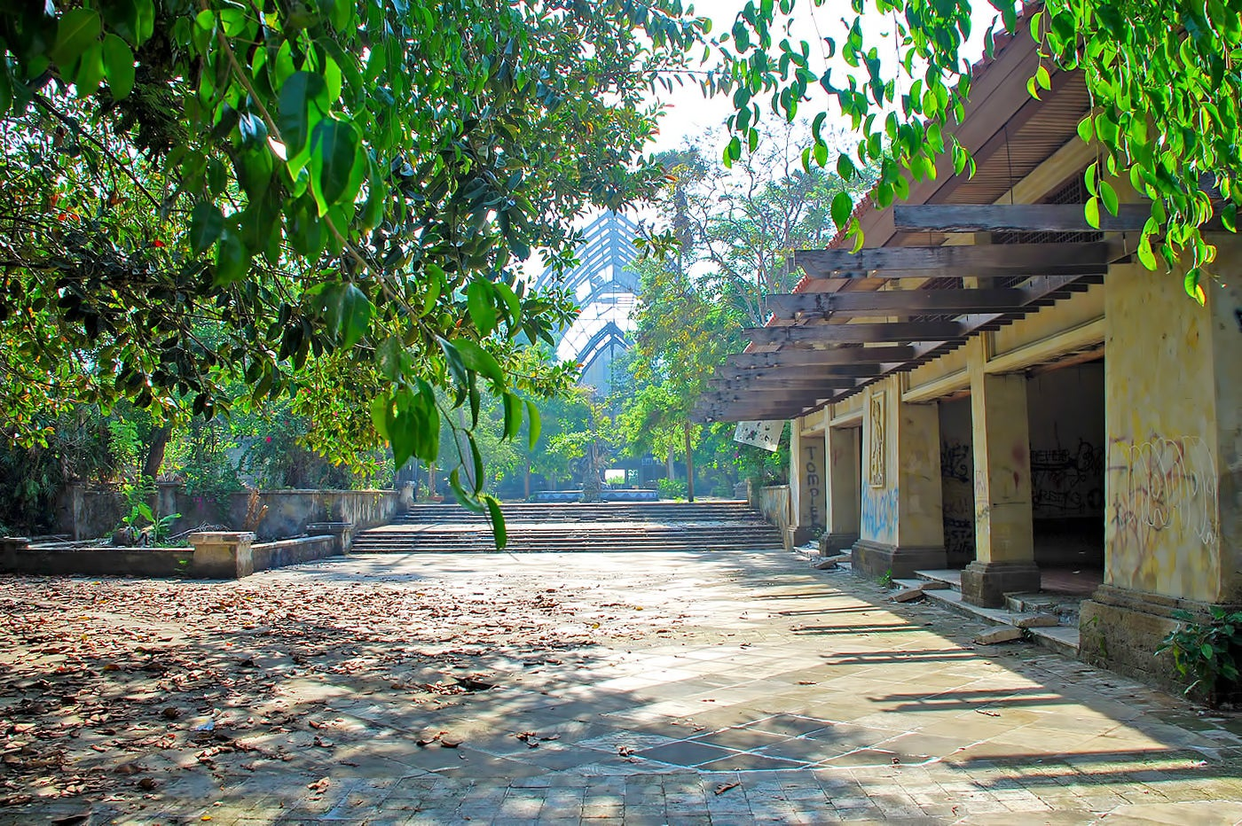 Taman Festival Bali Abandoned Amusement Park In Sanur,Modern Long Narrow Bathroom Ideas