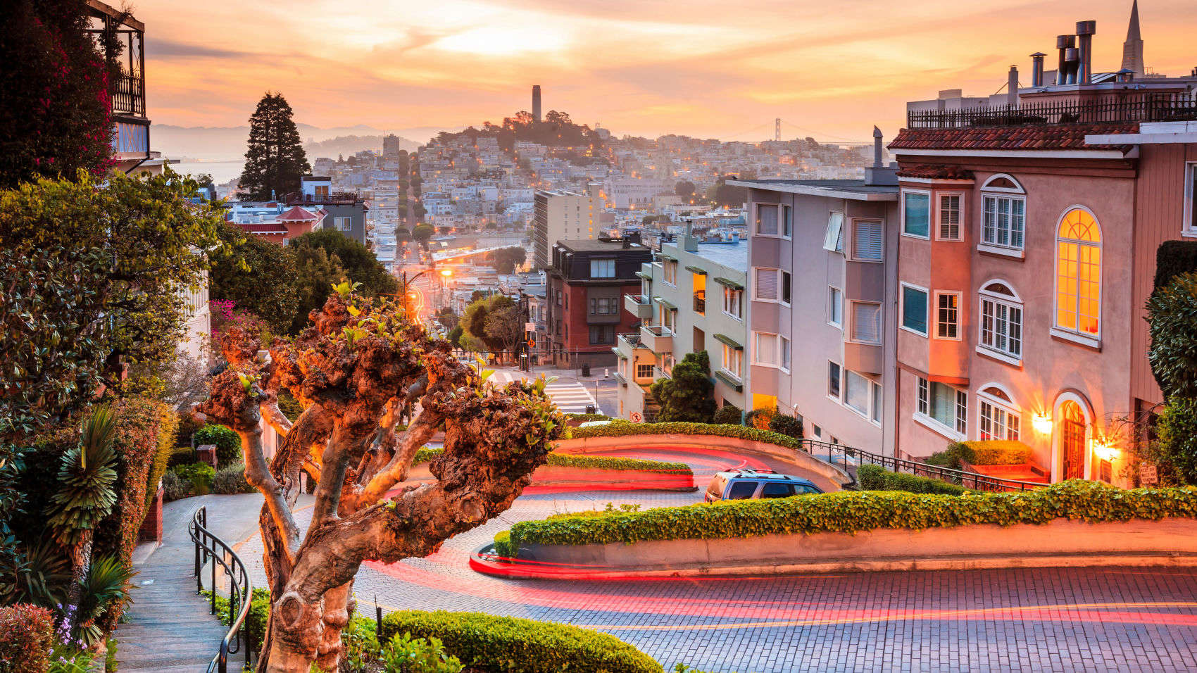 Top 10 San Francisco Hotels Near Lombard Street California