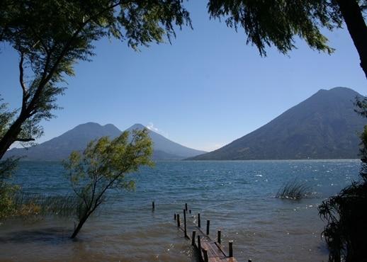 Atitlan-vatnið, Gvatemala