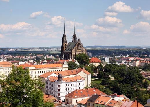 Brno, Republik Cheko