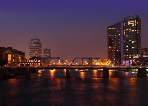 大湍城, 密西根, 美國