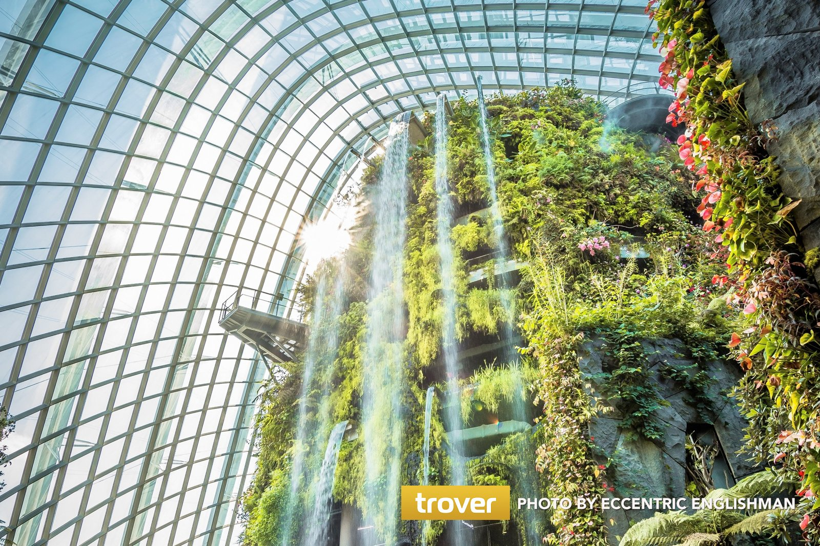 Cloud Forest at Gardens by the Bay , One of Singapore\u0027s