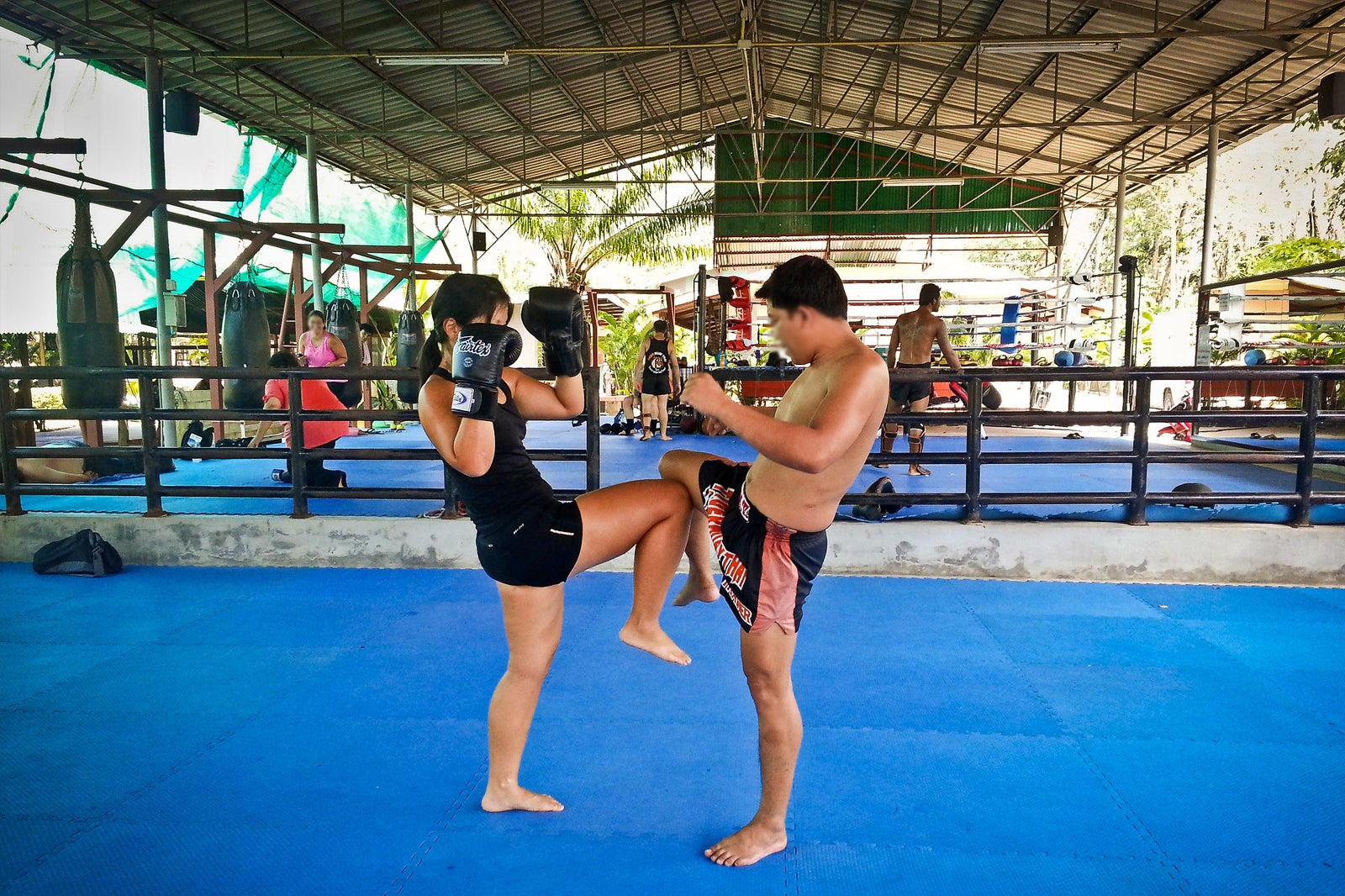 The Course at a Muay Thai Camp with Fitness in Thailand for Student