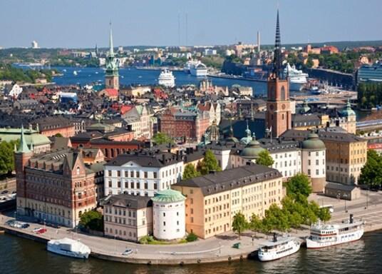 Centre-ville de Stockholm, Suède