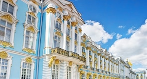 Catherine Palace and Park in Tsarskoye Selo